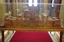 This miniature Parliament building is built by a private man and his wife with matches! They've used a few thousand matches to complete this project of them. When completed, they donated it to the..., Elmarie Magda D - August 2010