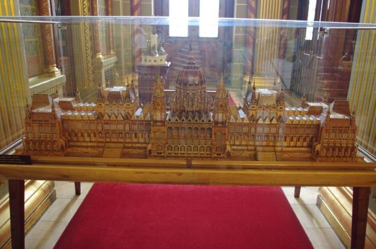 Miniature Parliament building - Budapest