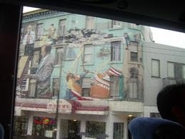 Passing through San Francisco's Chinatown, there are some great sights to see including this artistic work., Mandy D - November 2007
