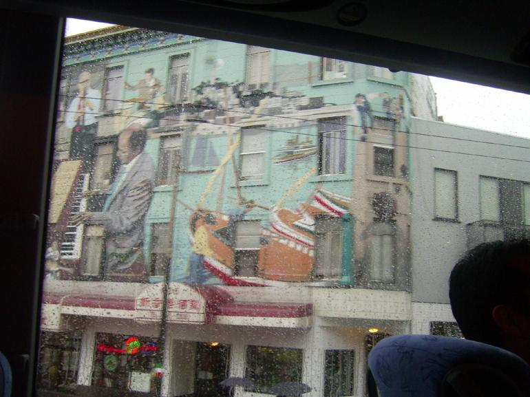 Murals on a Building - San Francisco