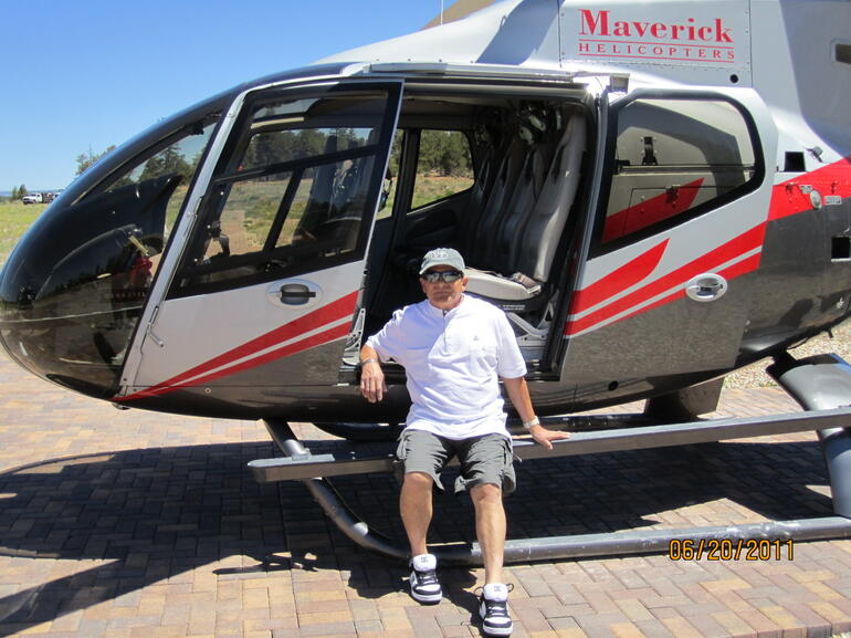 My Dad on the Helicopter - Las Vegas