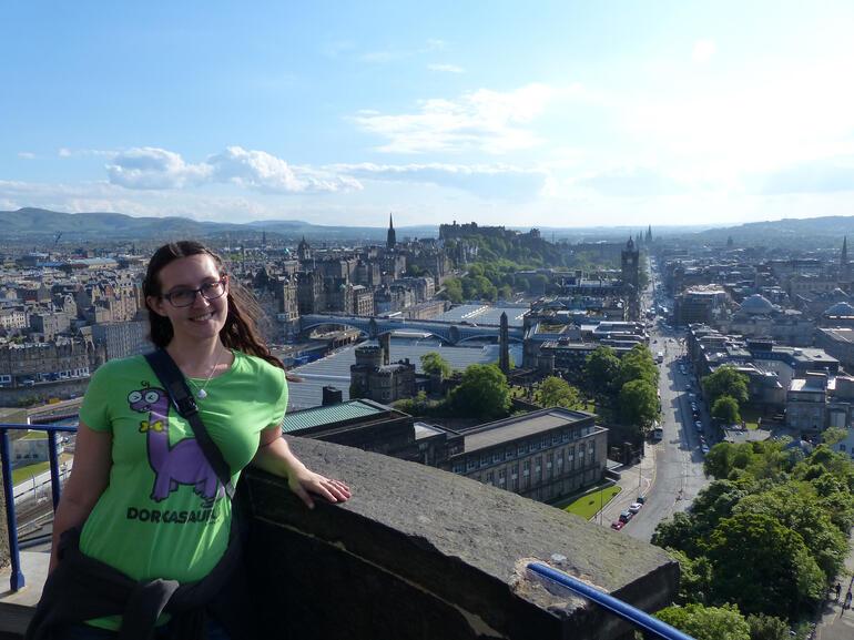 Nelson Monument views - Edinburgh