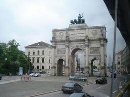 One of many beautiful land marks you will see in Munich when you take the hop on, hop off bus., David F - July 2010