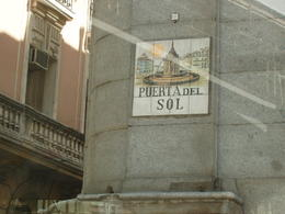 A major Plaza in central Madrid, view from bus top - an open-air site of old 'Spanish Inquisition' , madh5421 - July 2013