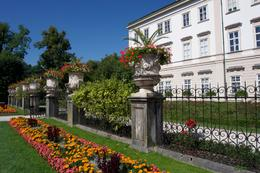 Beautiful gardens on the Maribelle Palace grounds. , Roger M - September 2016