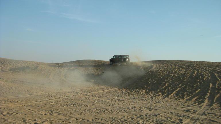 Sand fun! - Dubai