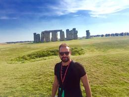 Photo of me in front of stonehenge taken by the tour guide , alain.aouad - September 2016