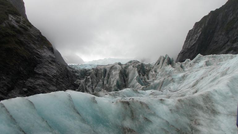 The glacier - Franz Josef & Fox Glacier