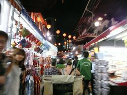 Trishaw ride through China Town Market, Roger R - February 2009