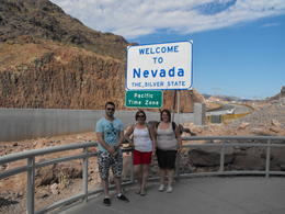 View from the Hoover Dam Bypass Bridge back toward Nevada , Kevin W - August 2013