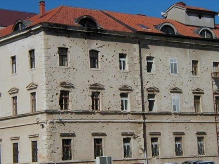 War damage - Dubrovnik