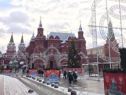 State historic museum on Red Square , reachjennifer - December 2016