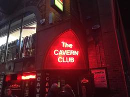 About to enter the great Cavern Club , Nico P - January 2017