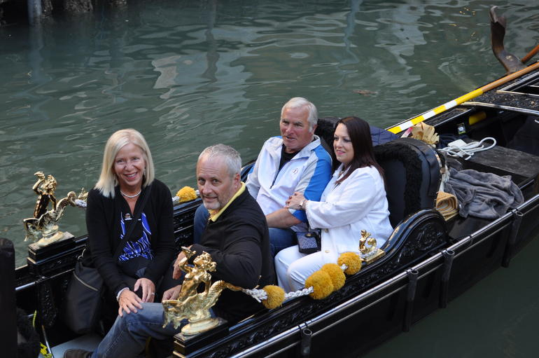 Private Tour: Venice Gondola Ride with Serenade photo 13