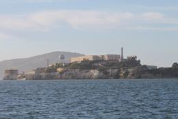 View of Alcatraz Prison from the catamaran cruise , Linda F - June 2013