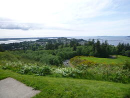 Looking out from Astoria Column , Susan S - June 2014
