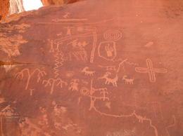 Petroglyphs, Cowboysrock - June 2011