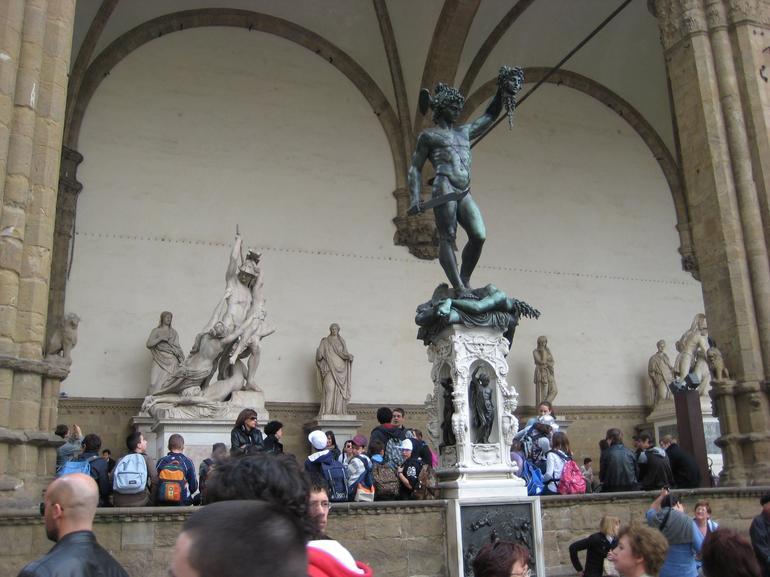Bombardment of beautiful things in Florence - Florence