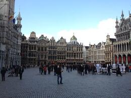 The beautiful Grand-Place was our meeting point for the tour, Balti-most - May 2012