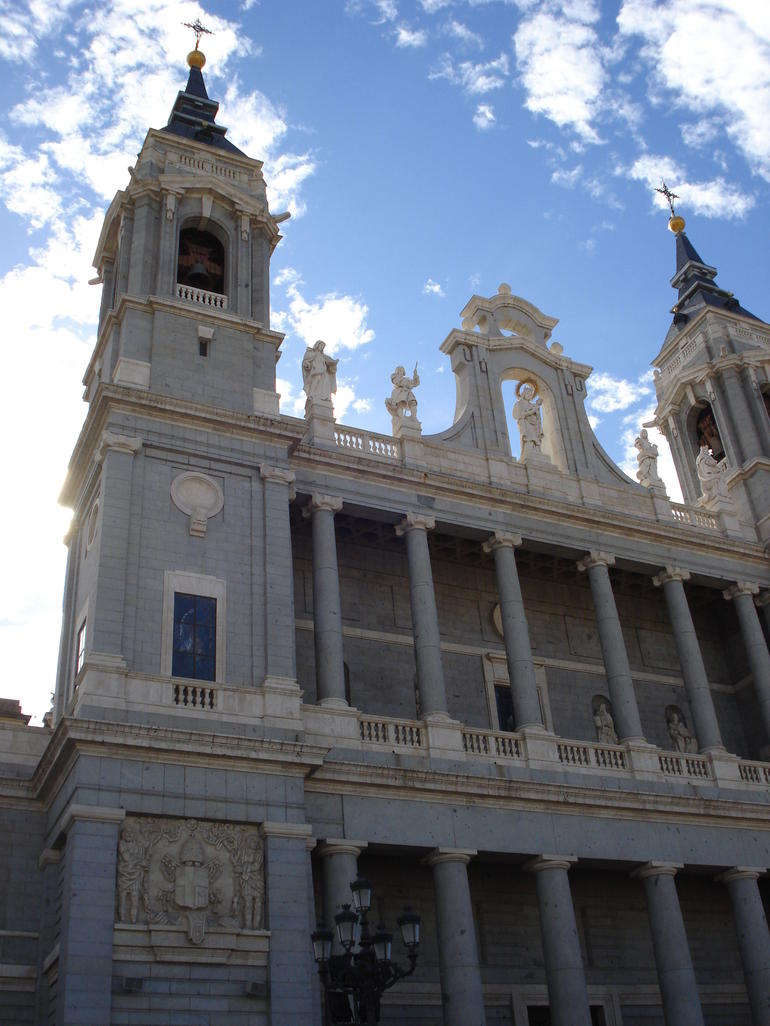 Church across from the Palacio Real - Madrid