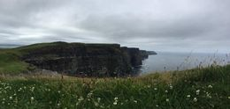 Cliffs of Moher, pictures don't do justice to this beautiful place. , Alejandra - July 2016