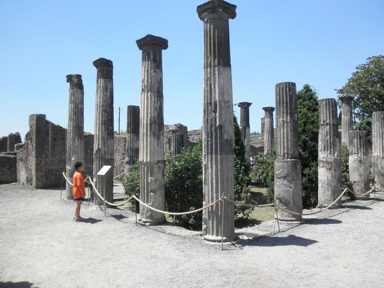 Columns at Pompeii - Rome