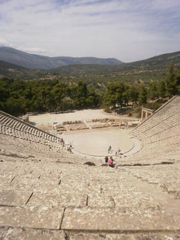 This ancient theatre was in amazing condition and a definite highlight , Stephen W - July 2013
