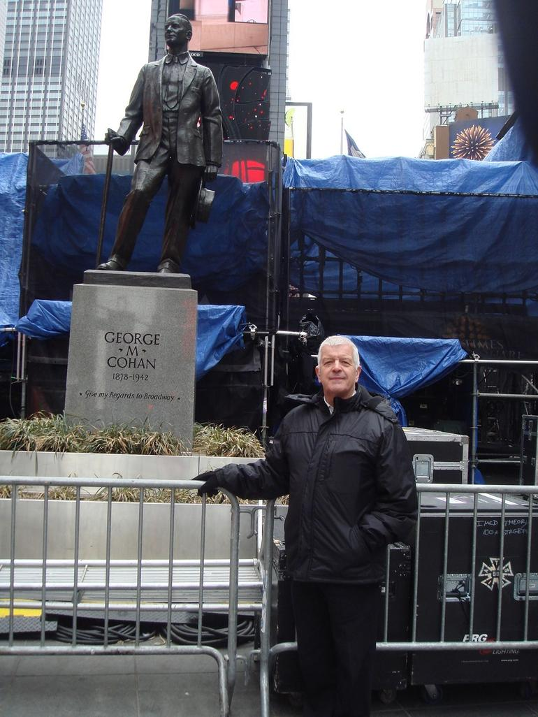 george m cohan at times square - New York City