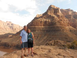 My wife and I above the Colorado River. A nice fellow passenger took this great picture. , Michael M - July 2013