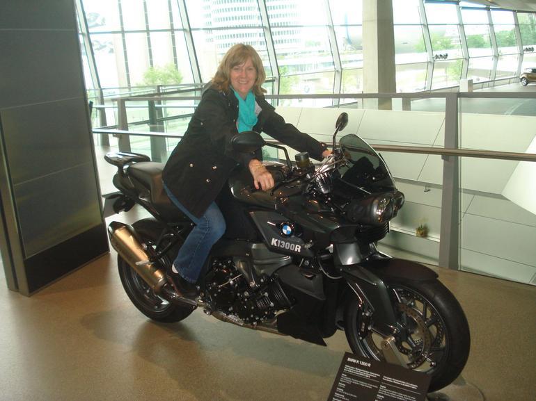 Having fun at BMW World - Munich