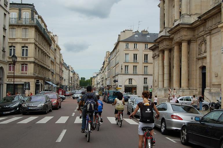 Hitting the streets of Versailles - Paris
