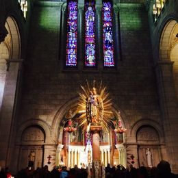 The church interior is beautiful! , Patricia W - October 2015