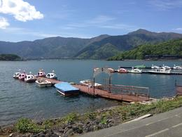 Mt Fuji and Lake Ashi - May 2014