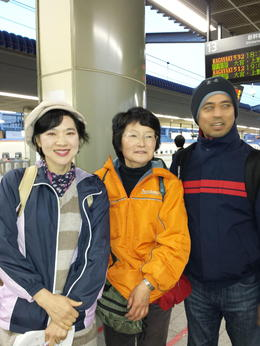 My husband with the best Tour Guides, they made the different in this beautiful tour always will be in my memories Nagano is very pretty city, the group was nice and we all had a great time. , Suddha U - April 2015