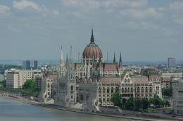 This photo is taken from the opposite side of the Danube River with this absolute stunning view of the magnificent building. Really a building to visit to admire beautiful architecture and interior..., Elmarie Magda D - August 2010