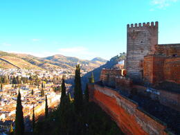 Views from the Alhambra, Rachel - March 2014