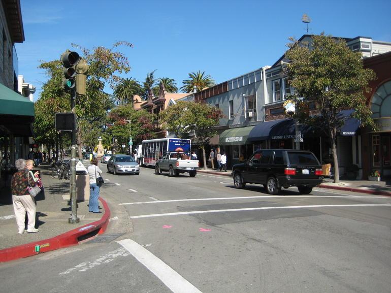 Sausalito Street Corner - San Francisco