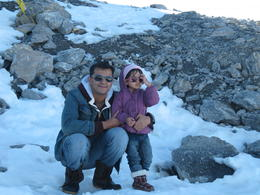 Top of Mount Titlis: snow and ice , shaan - October 2011