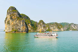 See the unearthly sights of UNESCO World Heritage-listed Halong Bay on a luxurious 2-day cruise aboard a traditional junk boat., Viator Insider - December 2017