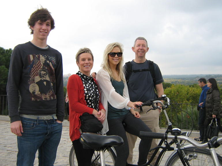 View to the west - Madrid