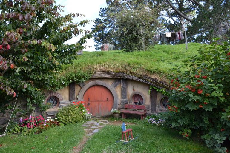 Hobbiton, Rotorua and Waitomo Caves Day Trip in Luxury Minibus from Auckland