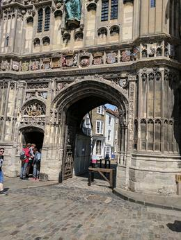Ticket Entrance to Canterbury Cathedral , Sharon G - June 2017