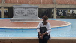 Sitting at the Memorial , gail h - September 2017