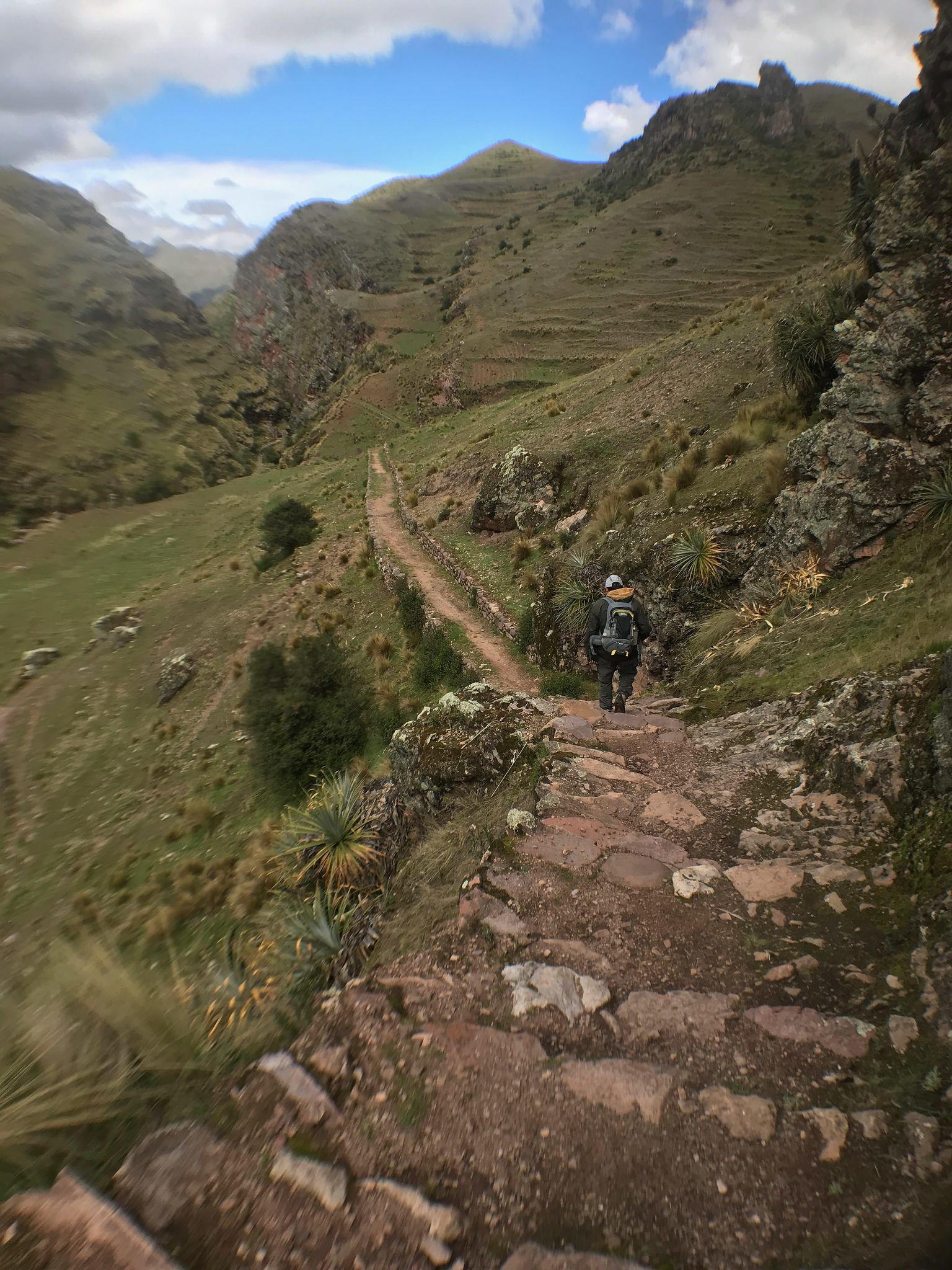 MAIS FOTOS, Trajeto de Huchuy Qosqo até Machu Picchu 3 dias - 2 noites