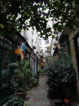 A quaint hidden street in Paris, how cute! , Nettie - September 2016