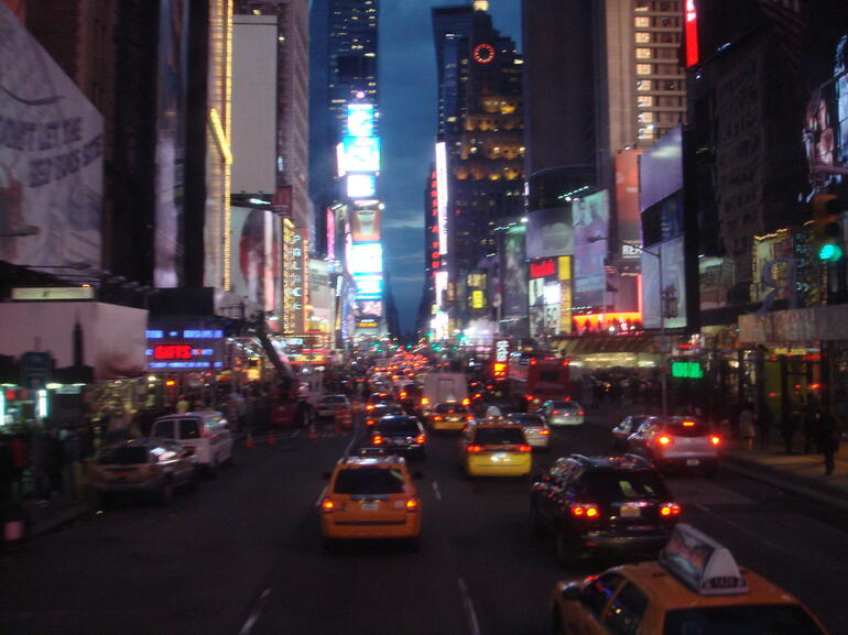 at night - New York City