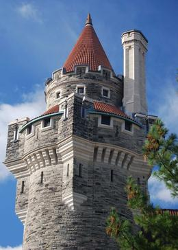 Tower at Casa Loma - December 2009