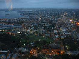 Dinner with a view, Sydney Tower. We went at 6pm so we saw light and dark which was a bonus., Gabrielle H - March 2008