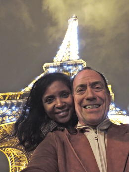 After the amazing Viator Eiffel Tower small-group tour - no line, no waiting to get in. Thanks for this memorable experience. Our faces express it all!! , Brent S - November 2013