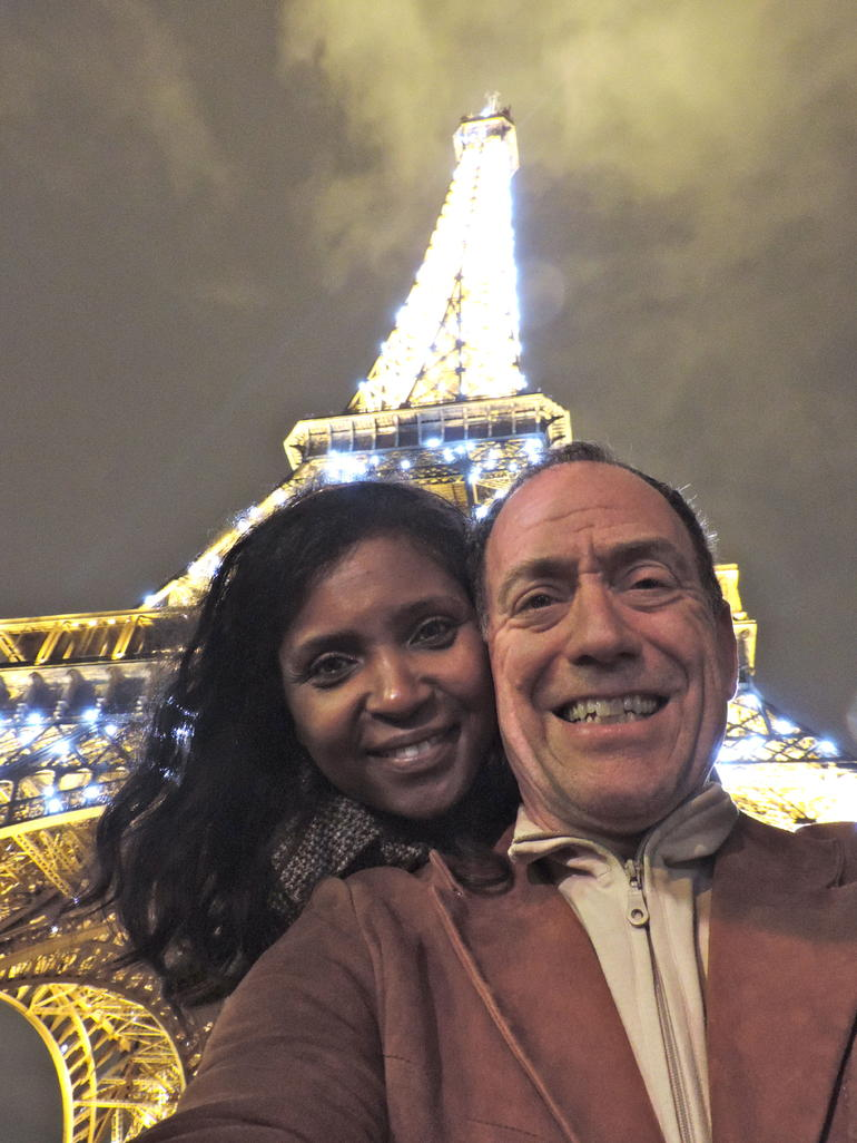 Eiffel Tour at Night! Nov 2013 - Paris
